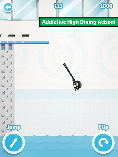 Stickman High Diving