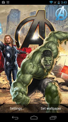 Marvel Avengers Live Wallpaper