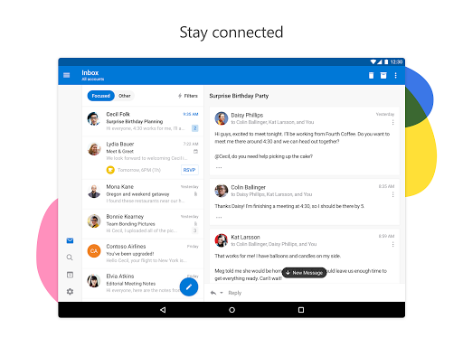 Download Microsoft Outlook for android 4 1 1