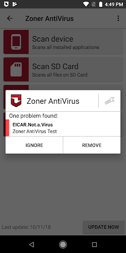 Free download Zoner AntiVirus APK for Android