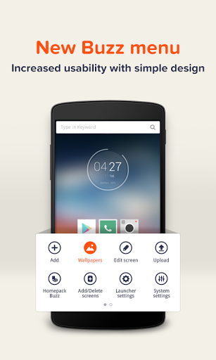 Free download Buzz Launcher-Smart&Free Theme APK for Android