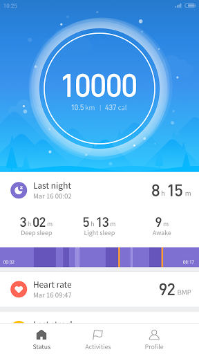 Download Mi Fit for android 4 4 2