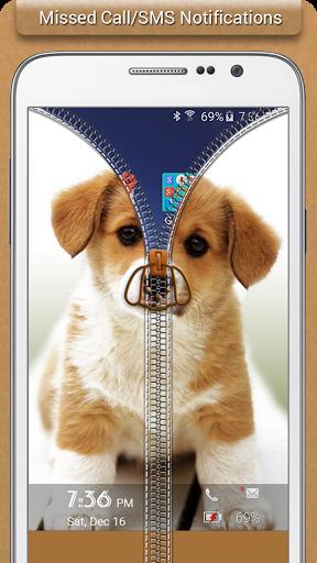 Puppy Zipper Lock
