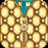 icon Gold Zipper Lock 1.8