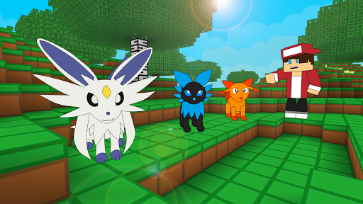 Screenshots Of Pixelmon Battle Craft Go Cube World
