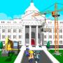 icon USA President House Construct