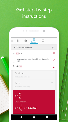 Download Photomath - Camera Calculator for android 5 1 1