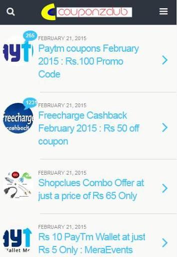 CouponZClub Shop & Save AdFree