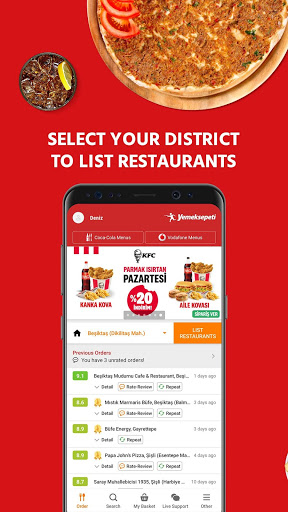 Yemeksepeti -Order Food Easily