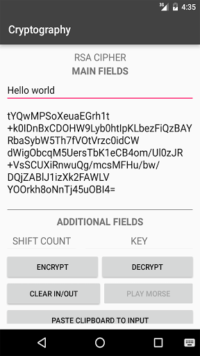 Free download Cryptography APK for Android