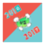 icon New Year Game - 2016 VS 2017
