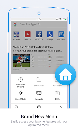 Download Uc Browser Mini Tiny And Fast For Android 4 1 2