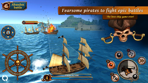 Download Ships of Battle Age of Pirates for android 4 2 2