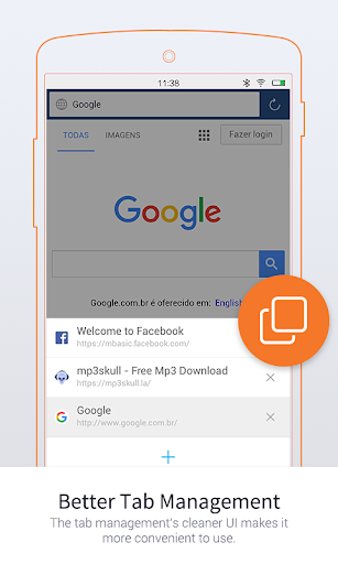 Download UC Browser Mini-Tiny and Fast for android 2 3 5