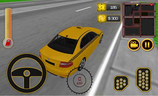 Airport Taxi Simulator 3D