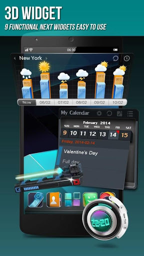 Download Next Launcher 3D Shell Lite for android 2 3 6