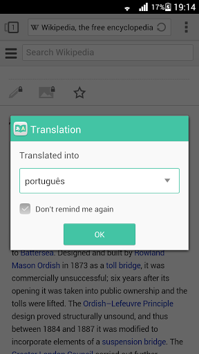Translation for Next Browser