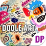 icon Gambar Doodle Art