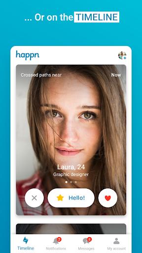 happn nouă de dating app)