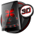 icon Soft Touch Red Theme 12.0.3