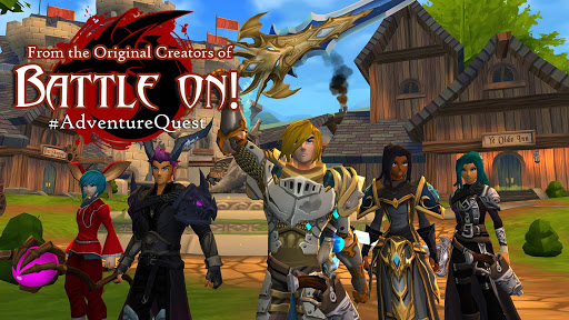 Download AdventureQuest 3D for android 4 1 2