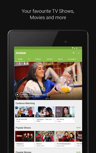 Download Hotstar for android 5 0 1