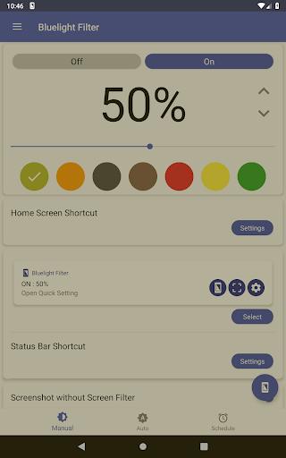 Bluelight Filter for Eye Care