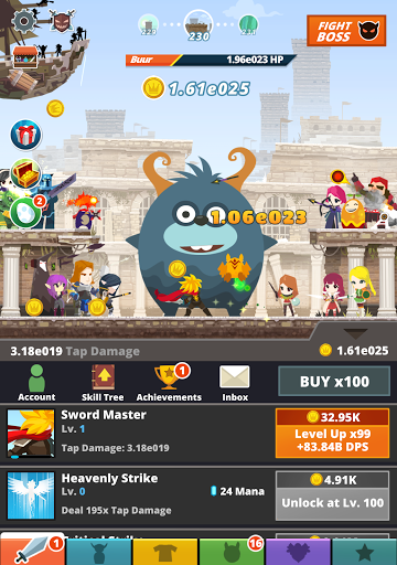 Download Tap Titans 2 for android 4 4 2