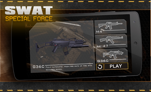 Download SWAT 3D war game shooter for android 2 3 4