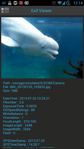 Simple Exif Viewer
