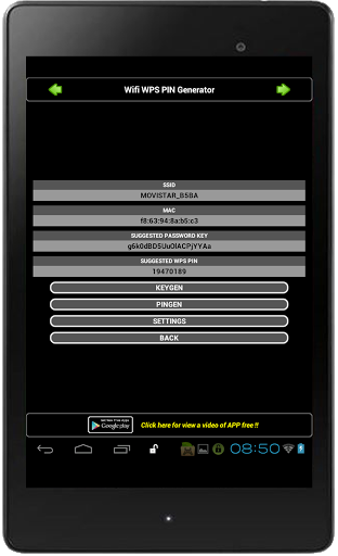 Download WIFI WPS PIN GENERATOR for android 5 0