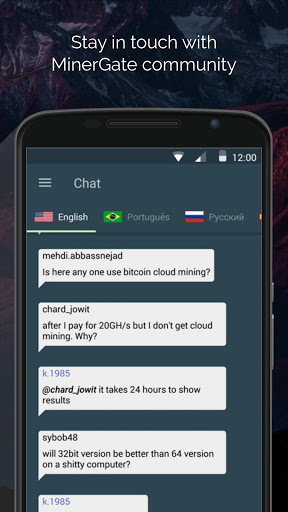Download MinerGate Mobile Miner for android 4 4 1
