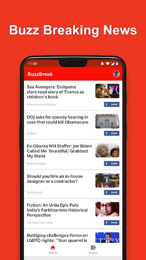 BuzzBreak News - Buzz News & Earn Free Cash!