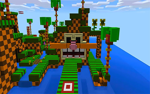 Download Sonic Parkour! parkour MCPE map! for android 5 0 2