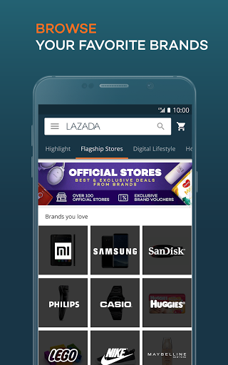 2d3bd902 Description of Lazada - Shopping & Deals (from google play)