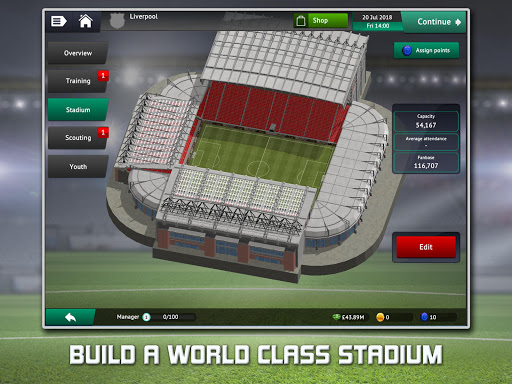 Download Soccer Manager 2019 for android 6 0 1