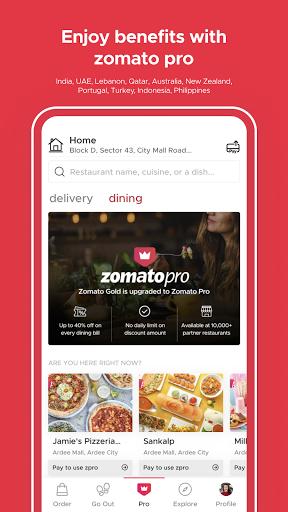 Zomato - Restaurant Finder
