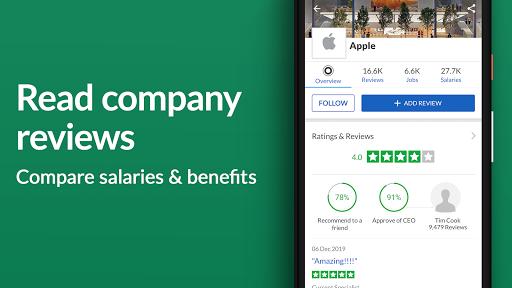 Job Search, Salaries & Reviews