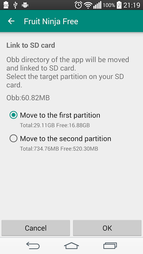 Download Link2SD for android 6 0 1