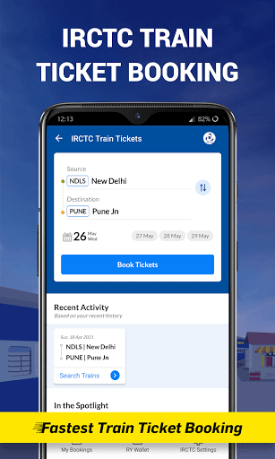 PNR Status & Indian Rail Info
