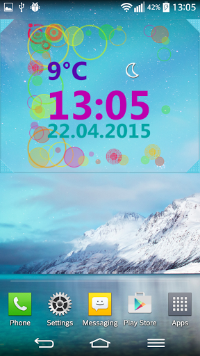 world weather clock widget apk