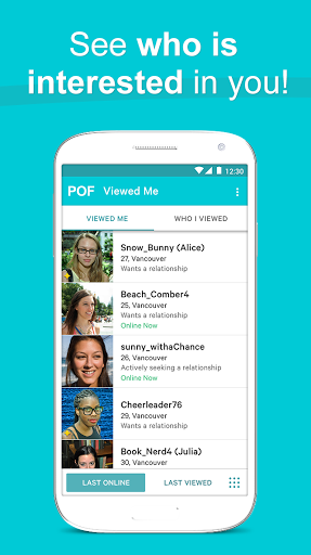 Pof free dating app google play