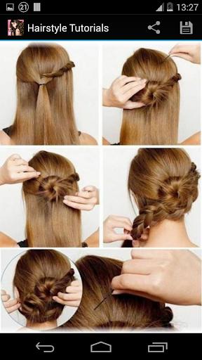 Hairstyles step by step