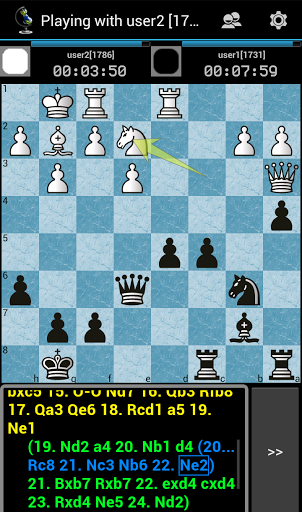 Free download Chess ChessOK Playing Zone PGN APK for Android