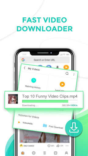 Free download UC Browser Mini-Tiny and Fast APK for Android