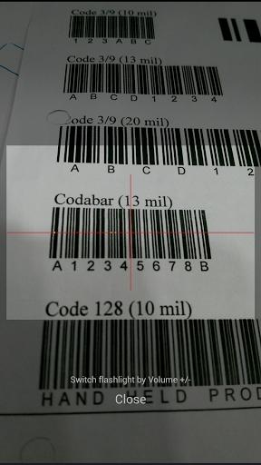 Ucom Free Barcode Scanner