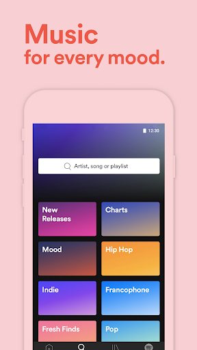 Free download Spotify Music APK for Android