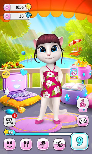 Download My Talking Angela for android 4 2 2
