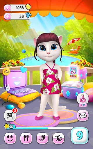 Download My Talking Angela for android 4 4 2