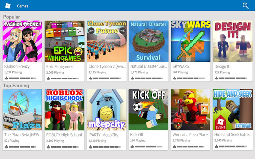 Download ROBLOX for android 4 1 2